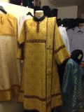 Deacon's vestments lined with silk — 9 300- 11 200 rubles