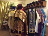 Priestly vestments from silk with velvet pads  — 16 000 rubles
