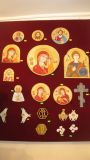 The embroidered icons — 1800-5000 rubles